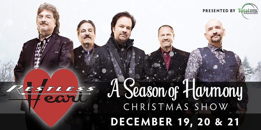 Tickets for Restless Heart: A Season of Harmony in Colorado Springs from ShowClix