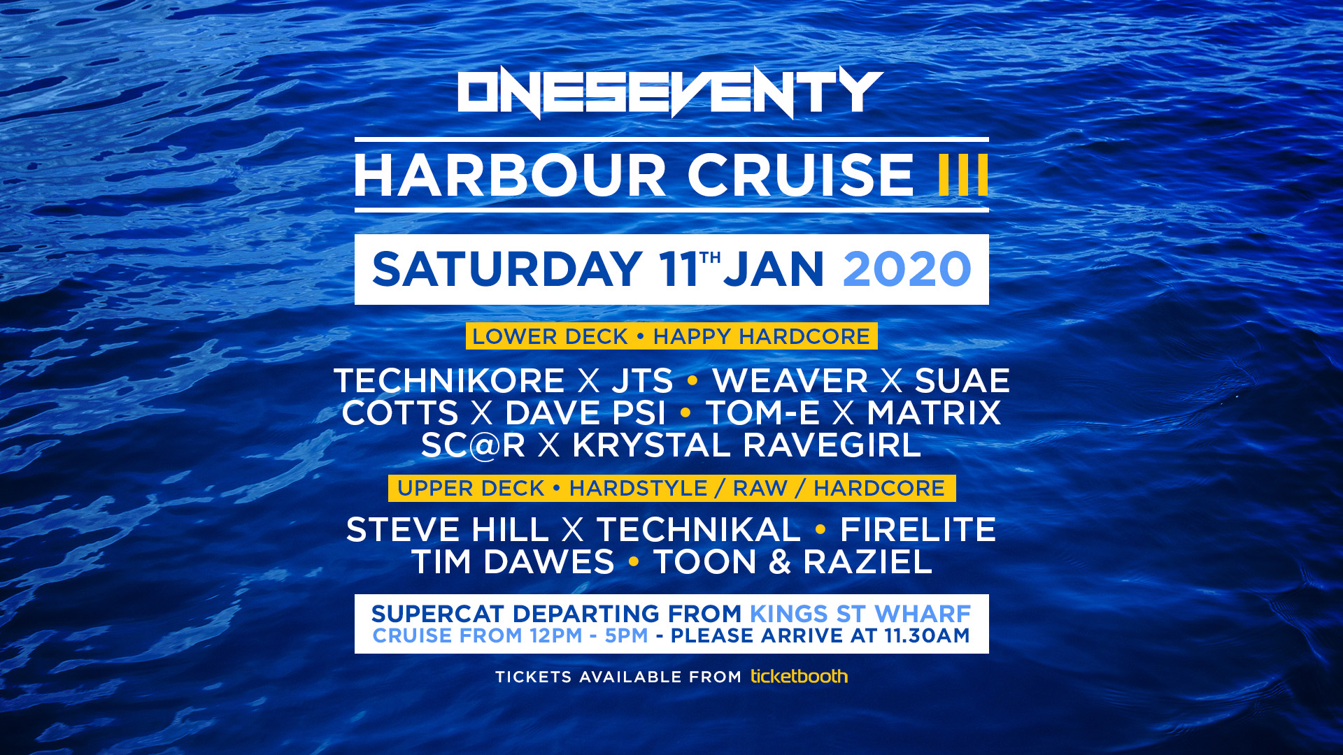 Tickets for OneSeventy: Harbour Cruise III in Sydney from Ticketbooth
