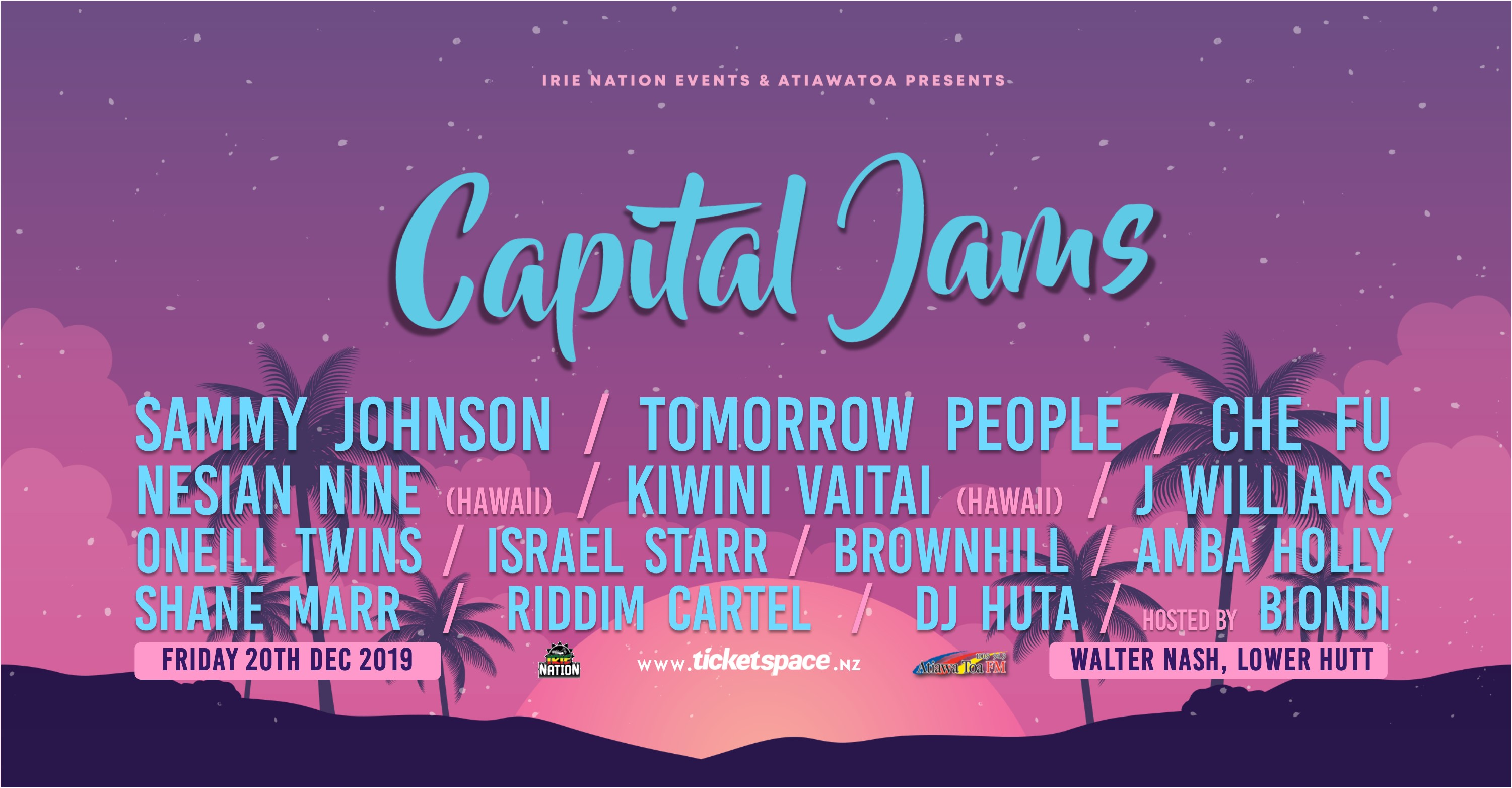 Tickets for CAPITAL JAMS - Wellington in Lower Hutt from Ticketspace