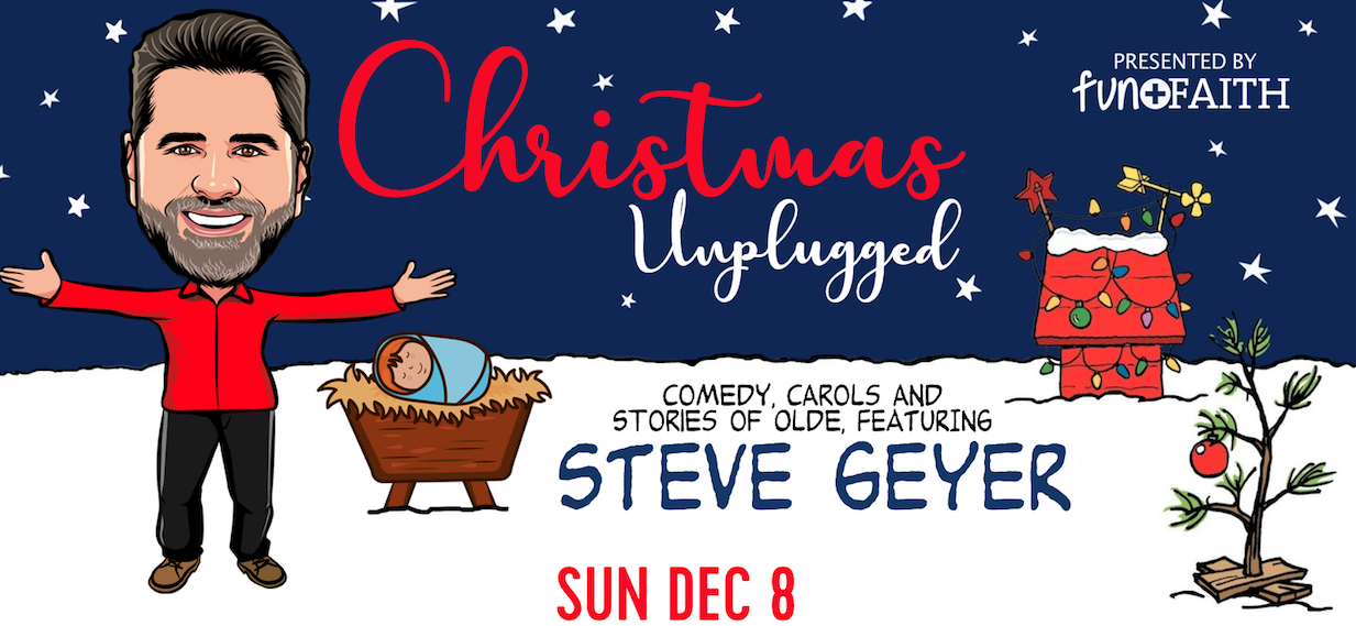 Tickets for Christmas Unplugged with Steve Geyer in Saint Paul from BuzzTix