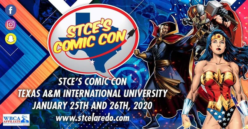 Tickets for STCE's Comic Con Admission and Autograph Tickets in Laredo from ShowClix