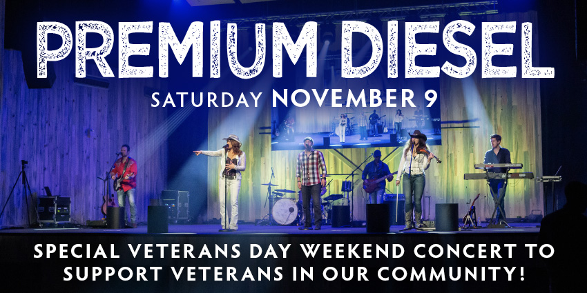 Tickets for Premium Diesel: Special Veterans Day Concert in Colorado Springs from ShowClix