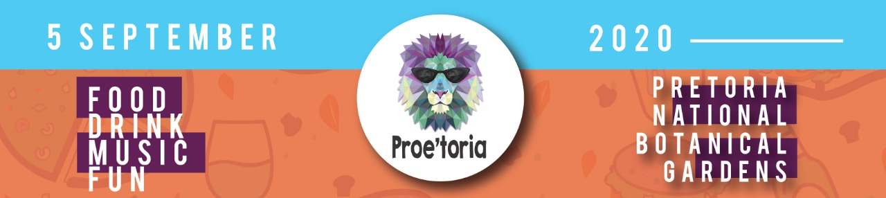Find tickets from Proe'toria|Taste'toria