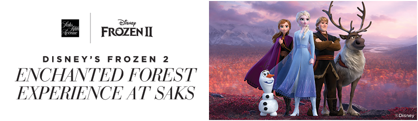 Tickets for Disney's Frozen 2 Enchanted Forest Experience at Saks in New York from ShowClix