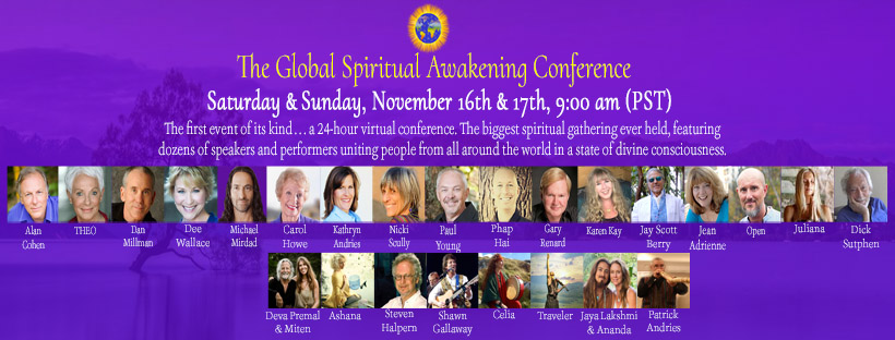 Tickets for The Global Spiritual Awakening Conference from BrightStar Live Events