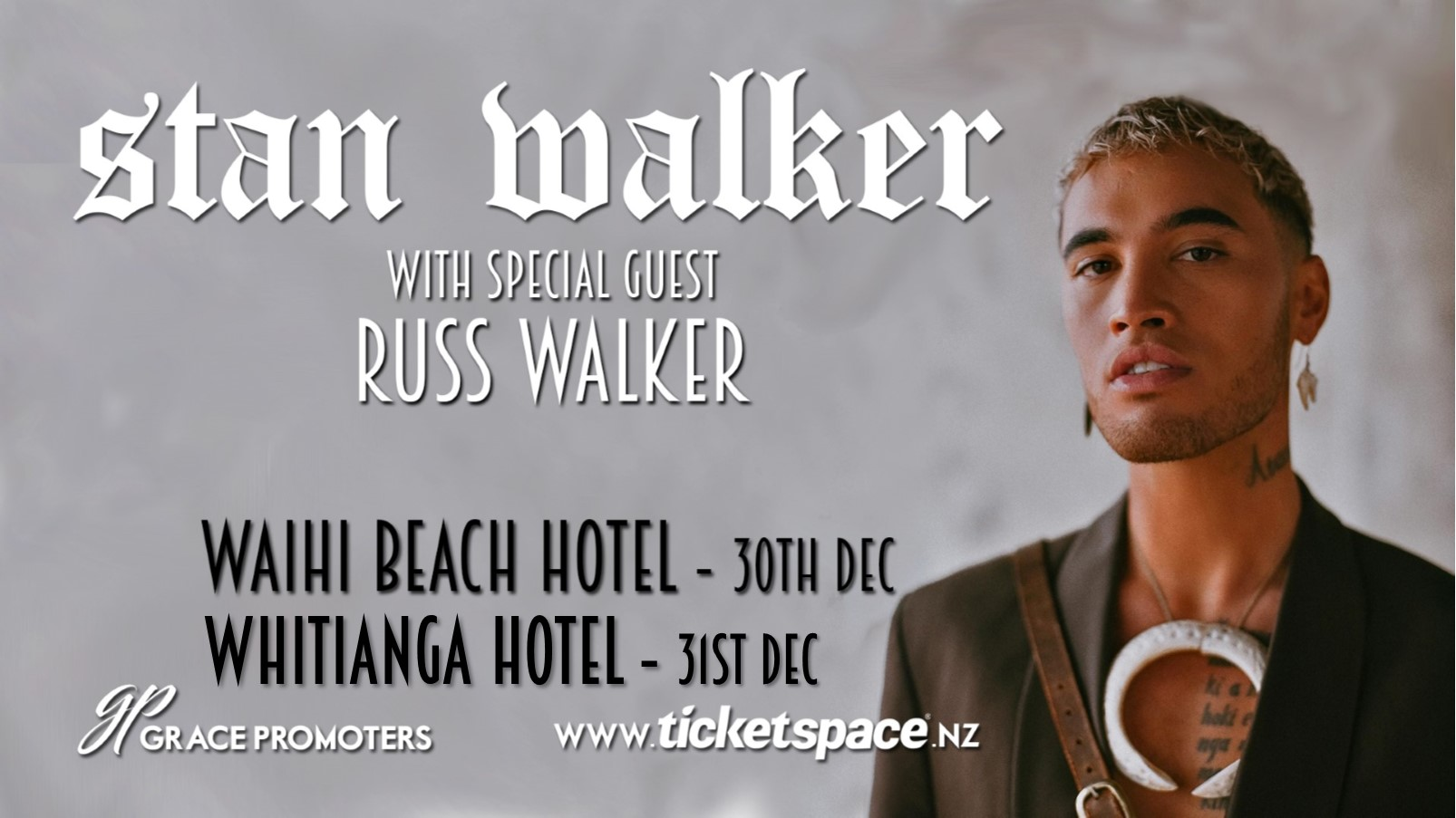 Tickets for STAN WALKER - Whitianga in Whitianga from Ticketspace