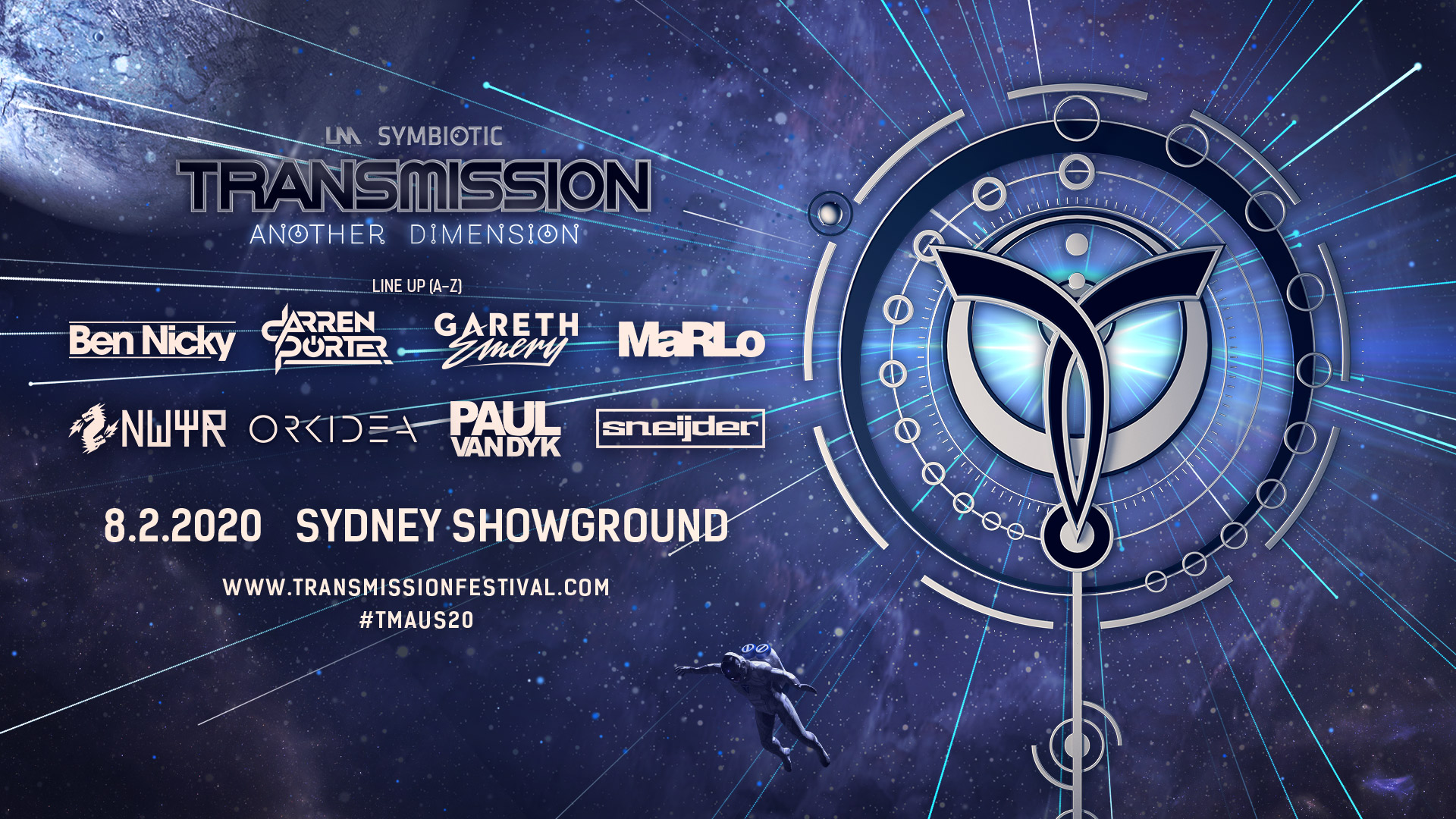 Tickets for Transmission: Another Dimension  2020 in Sydney Showground from Ticketbooth