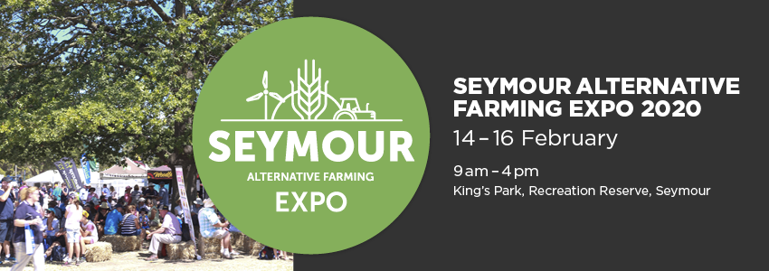 Tickets for 2020 Seymour Alternative Farming Expo in Seymour from Ticketbooth