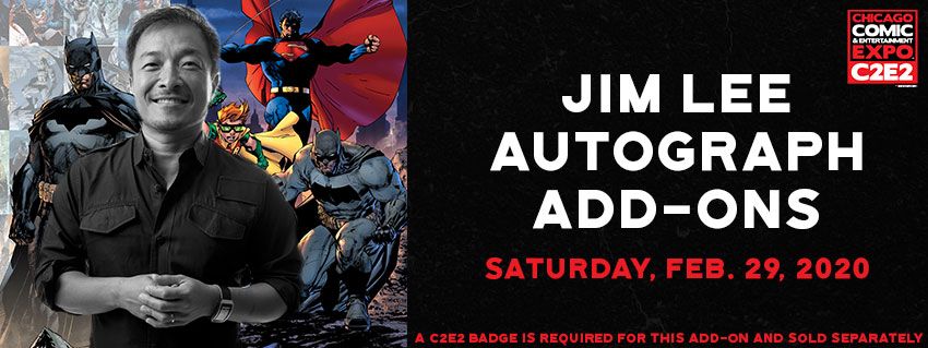 Tickets for C2E2 2020 - Jim Lee in Chicago from ShowClix