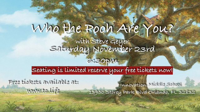 Tickets for Who the Pooh Are You? in Orlando from BuzzTix