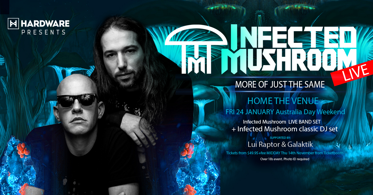 Tickets for Infected Mushroom (Live) – Sydney in Darling Harbour from Ticketbooth