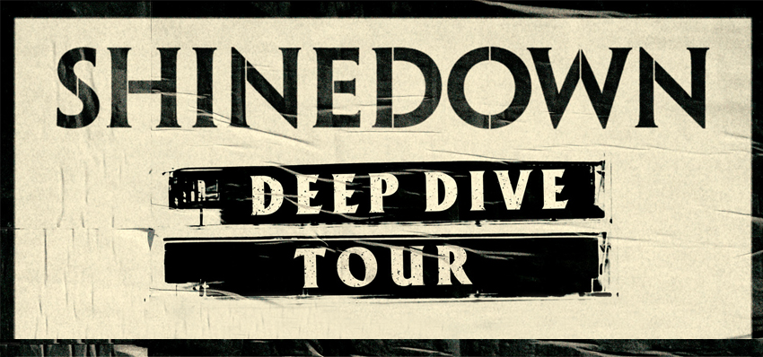Find tickets from Shinedown