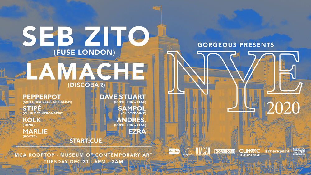 Tickets for Gorgeous presents NYE 2020 I SEB ZITO I Lamache in The Rocks from Ticketbooth
