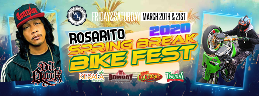 Tickets for Spring Break Bike Fest 2020 Feat DJ Quik in Rosarito  from ShowClix
