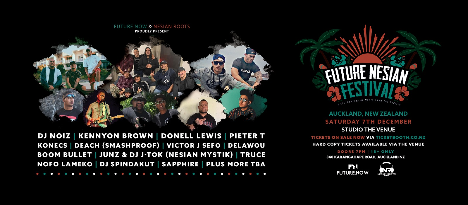Tickets for Future Nesian Mini Fest - Auckland in Newton from Ticketbooth New Zealand