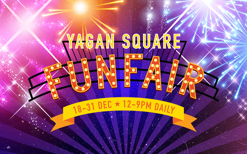 Tickets for Yagan Square Fun Fair in Perth from Ticketbooth