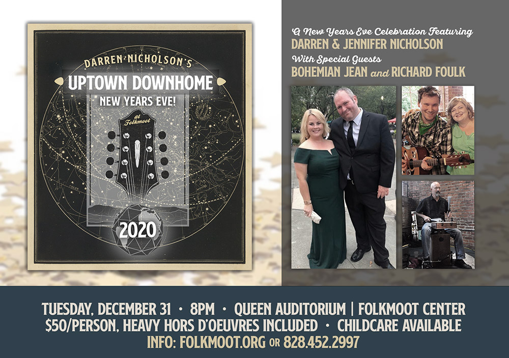 Tickets for Darren Nicholson's Uptown Downhome New Year's Eve in Waynesville from ShowClix