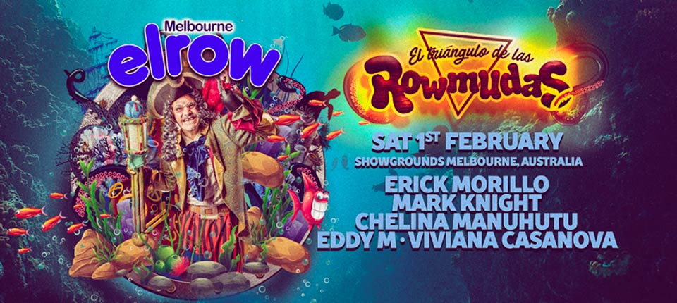 Tickets for  elrow Melbourne – El triangulo de las Rowmudas in Ascot Vale from Ticketbooth