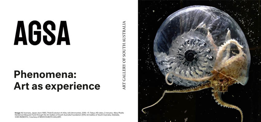 Tickets for CANCELLED - Phenomena: Art as experience in Adelaide from Ticketbooth