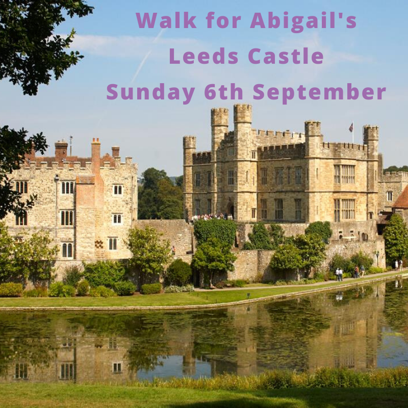 Tickets for Walk for Abigails - Leeds Castle  in Maidstone  from Ticketbooth Europe