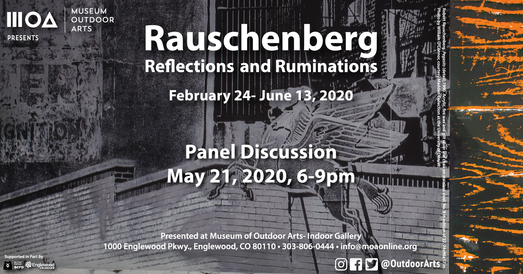 Tickets for Rauschenberg Panel Discussion in Englewood from ShowClix