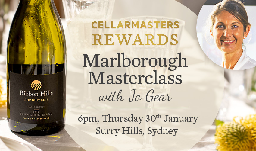 Tickets for Marlborough Masterclass with Wine Maker Jo Gear in Surry Hills from Ticketbooth