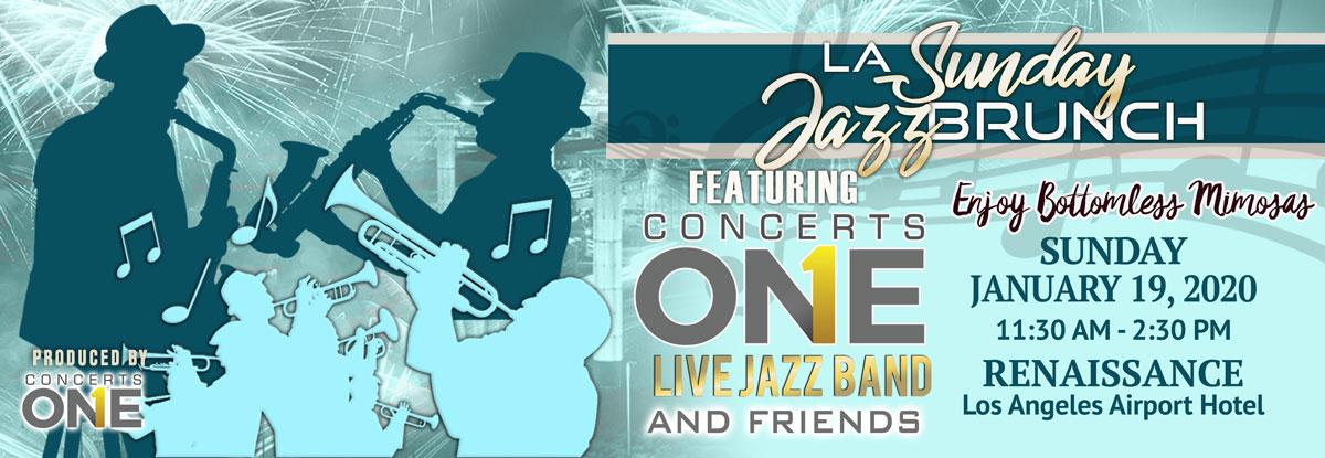 Tickets for LA Sunday Jazz Brunch MLK Holiday Edition  in Los Angeles from ShowClix