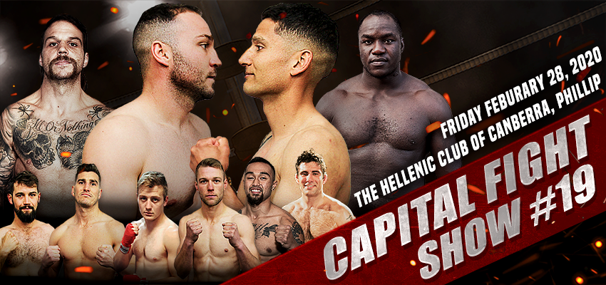 Tickets for Capital Fight Show 19 in Phillip from Ticketbooth