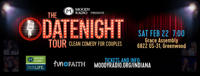 Tickets for The DATENIGHT Tour in Greenwood (New Whiteland) from BuzzTix