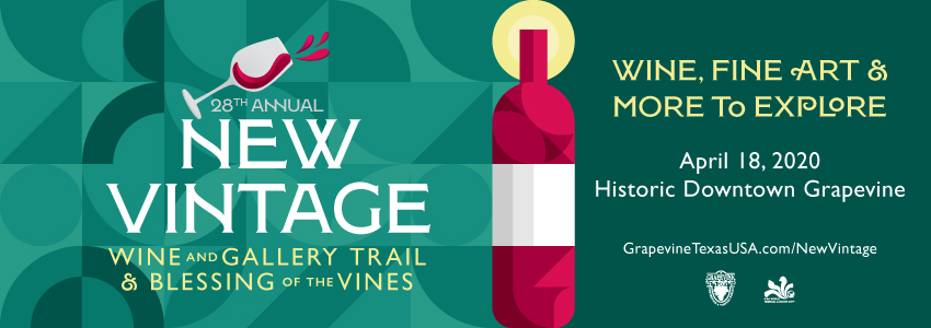 Tickets for 28th Annual New Vintage Wine and Gallery Trail in Grapevine from Grapevine TicketLine