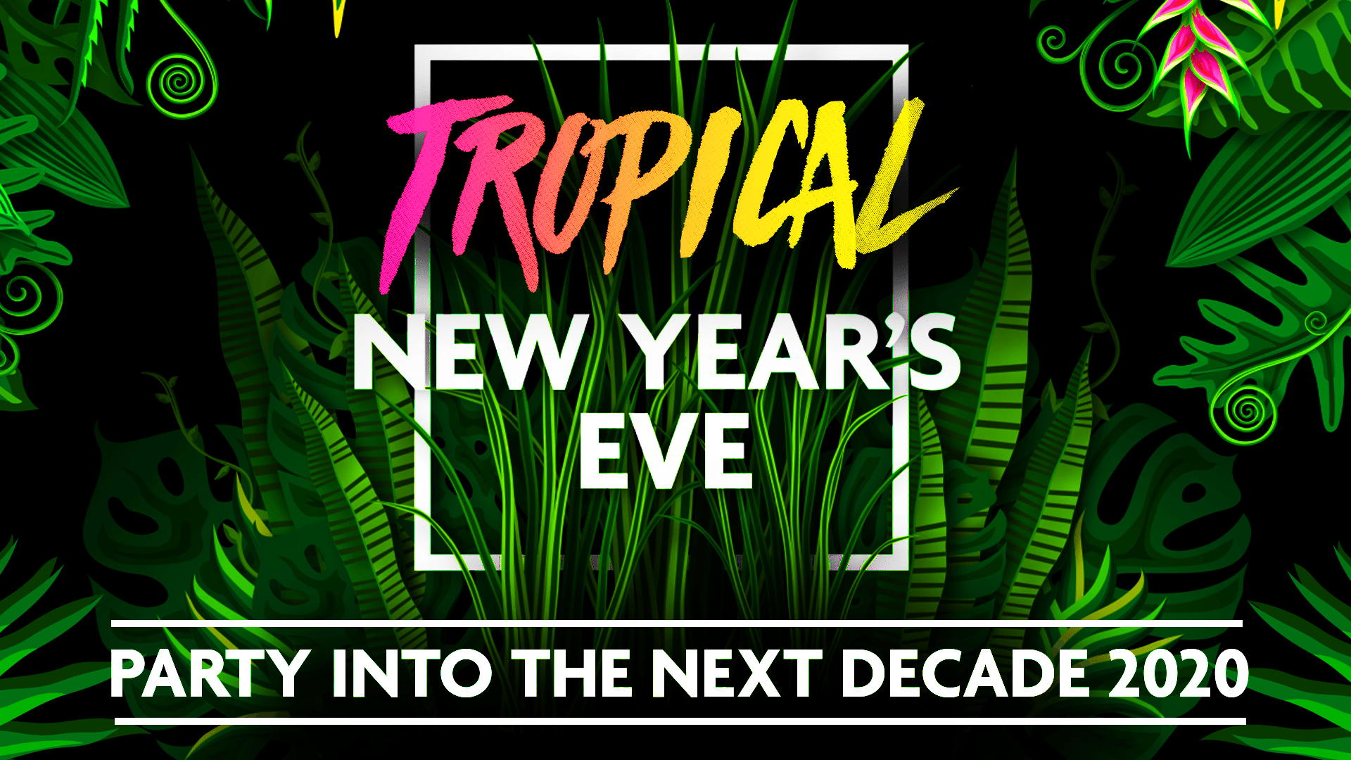 Tickets for Tropical NYE in South Wharf from Ticketbooth