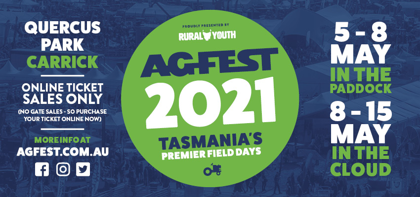 Tickets for Agfest 2021 - Tasmania's Premier Field Days in Carrick from Ticketbooth