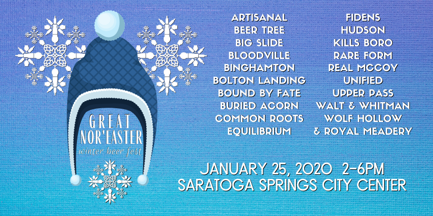 Tickets for Great Nor'easter - Winter Beer Fest in Saratoga Springs from BeerFests.com