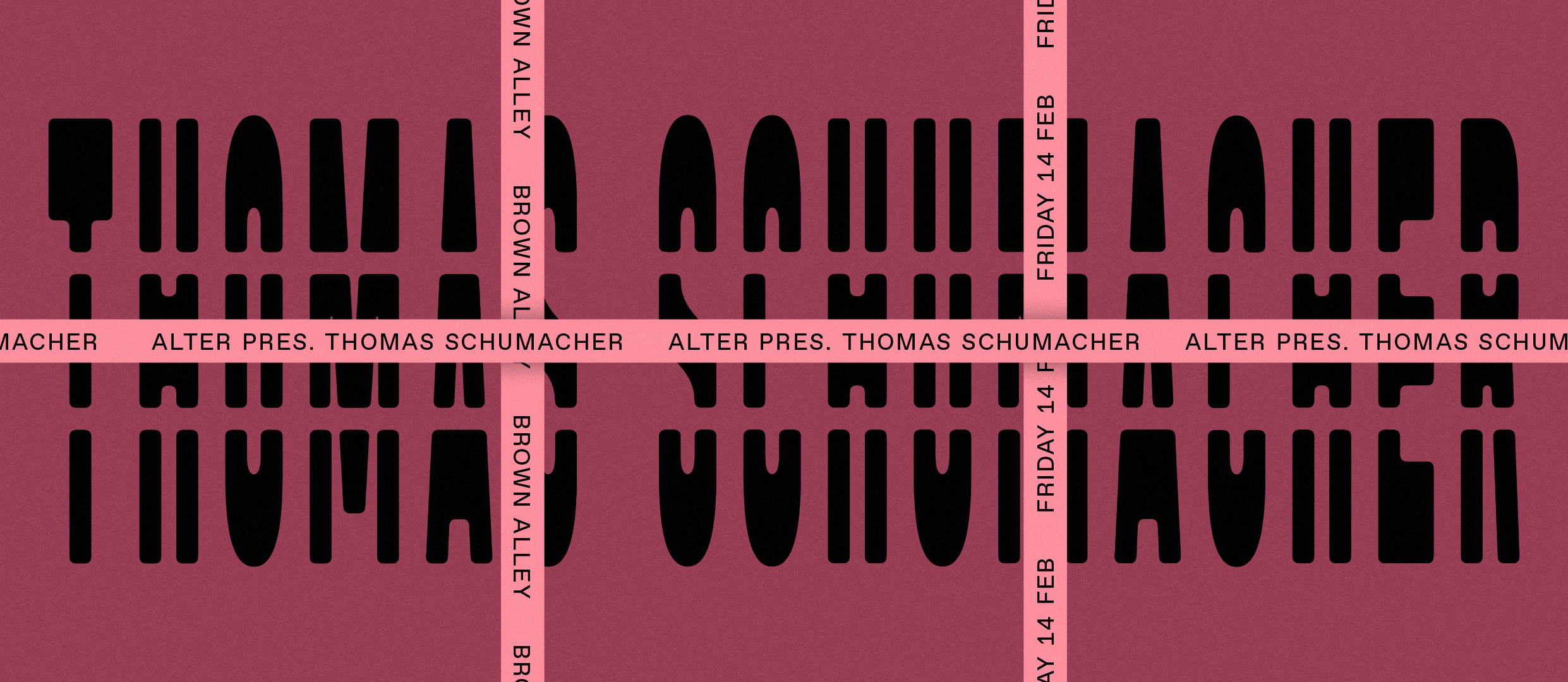 Tickets for Thomas Schumacher - Brown Alley in Melbourne in Melbourne from Ticketbooth