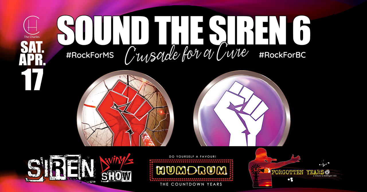 Tickets for Sound The Siren 6 in North Perth from Ticketbooth