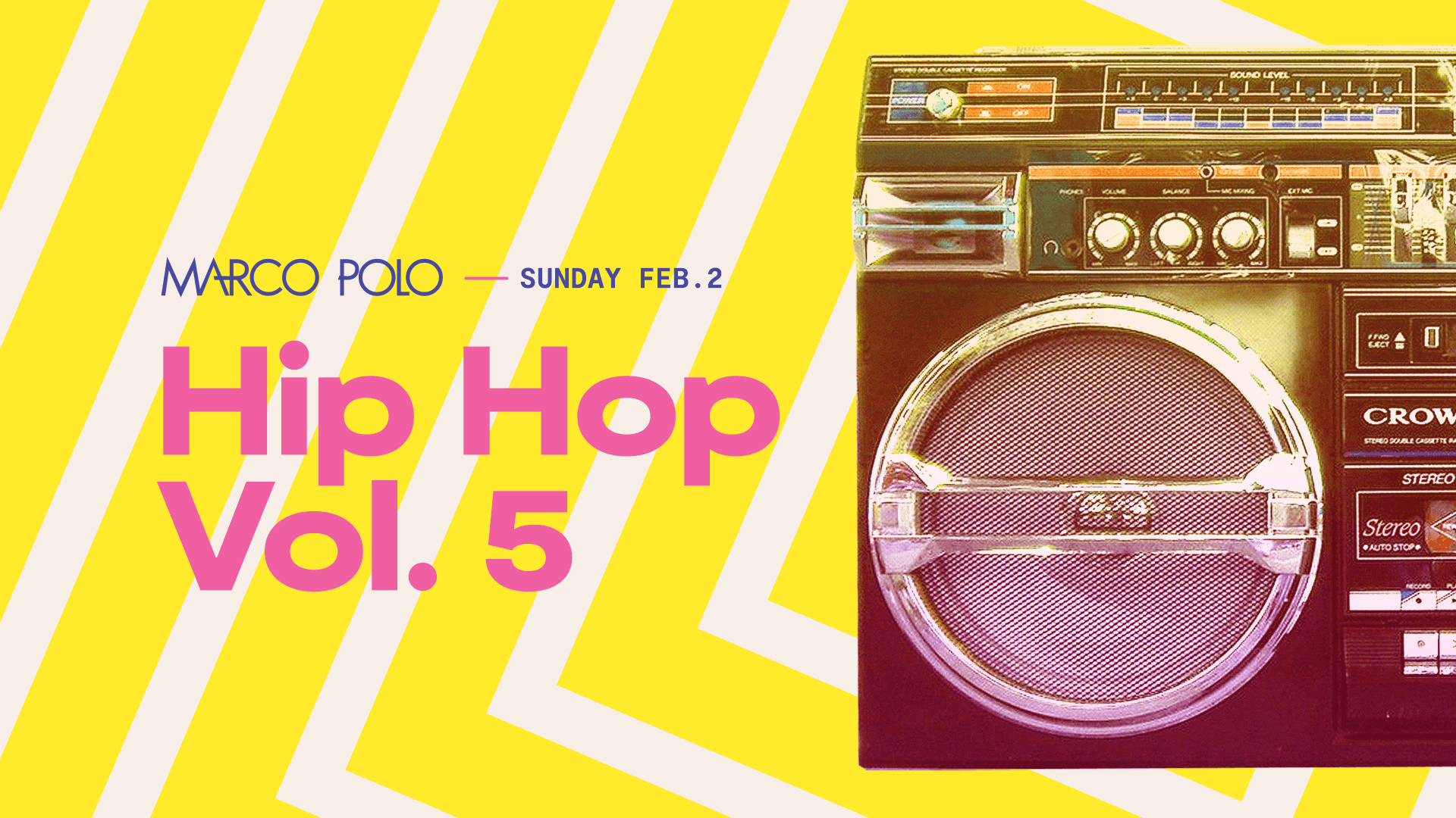 Tickets for Marco Polo | Hip Hop Vol. 5 in Sydney from Merivale