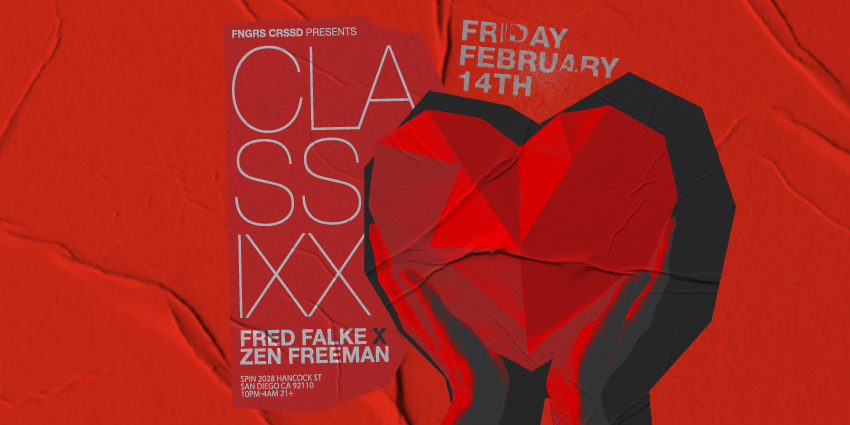 Tickets for FNGRS CRSSD presents CLASSIXX (DJ SET) + FRED FALKE X ZEN FREEMAN at SPIN NIGHTCLUB in San Diego from ShowClix