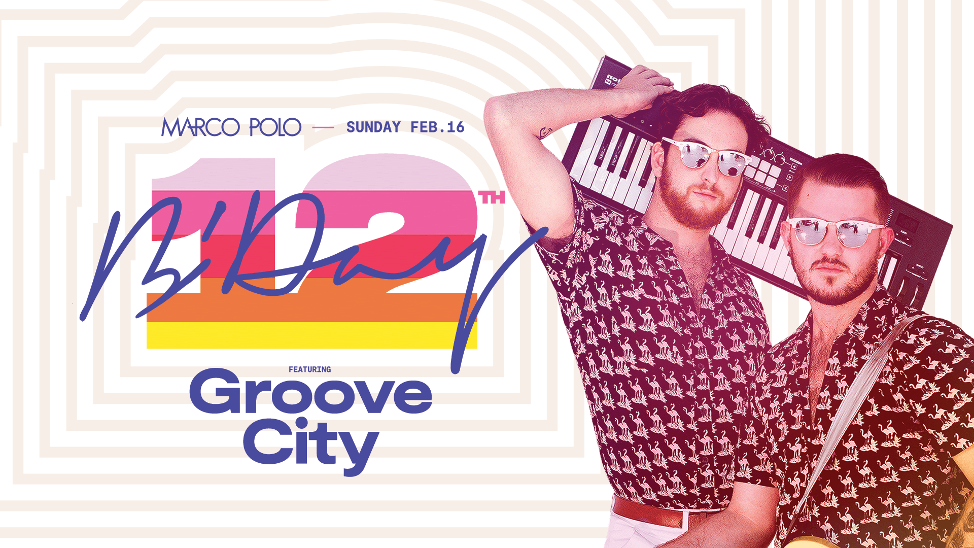 Tickets for Marco Polo's 12th Birthday Party ft. Groove City in Sydney from Merivale