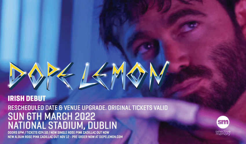 Tickets for Dope Lemon in Dublin from Ticketbooth Europe