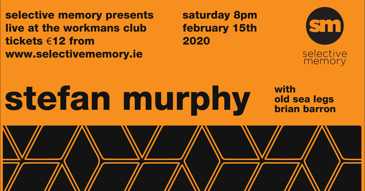 Tickets for Stefan Murphy in Dublin from Ticketbooth Europe
