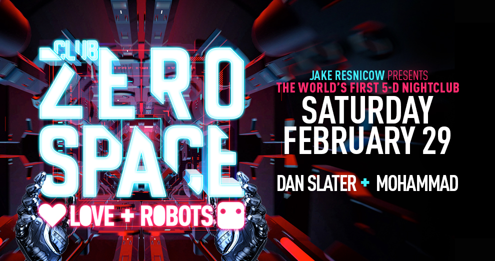 Tickets for Club ZeroSpace | Love+Robots Edition | Gay Nightlife Returns to Manhattan in 5D in New York from ShowClix