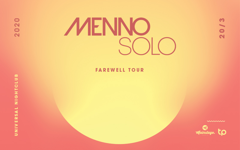 Tickets for CANCELLED: Menno Solo - Farewell Tour in Darlinghurst from Ticketbooth