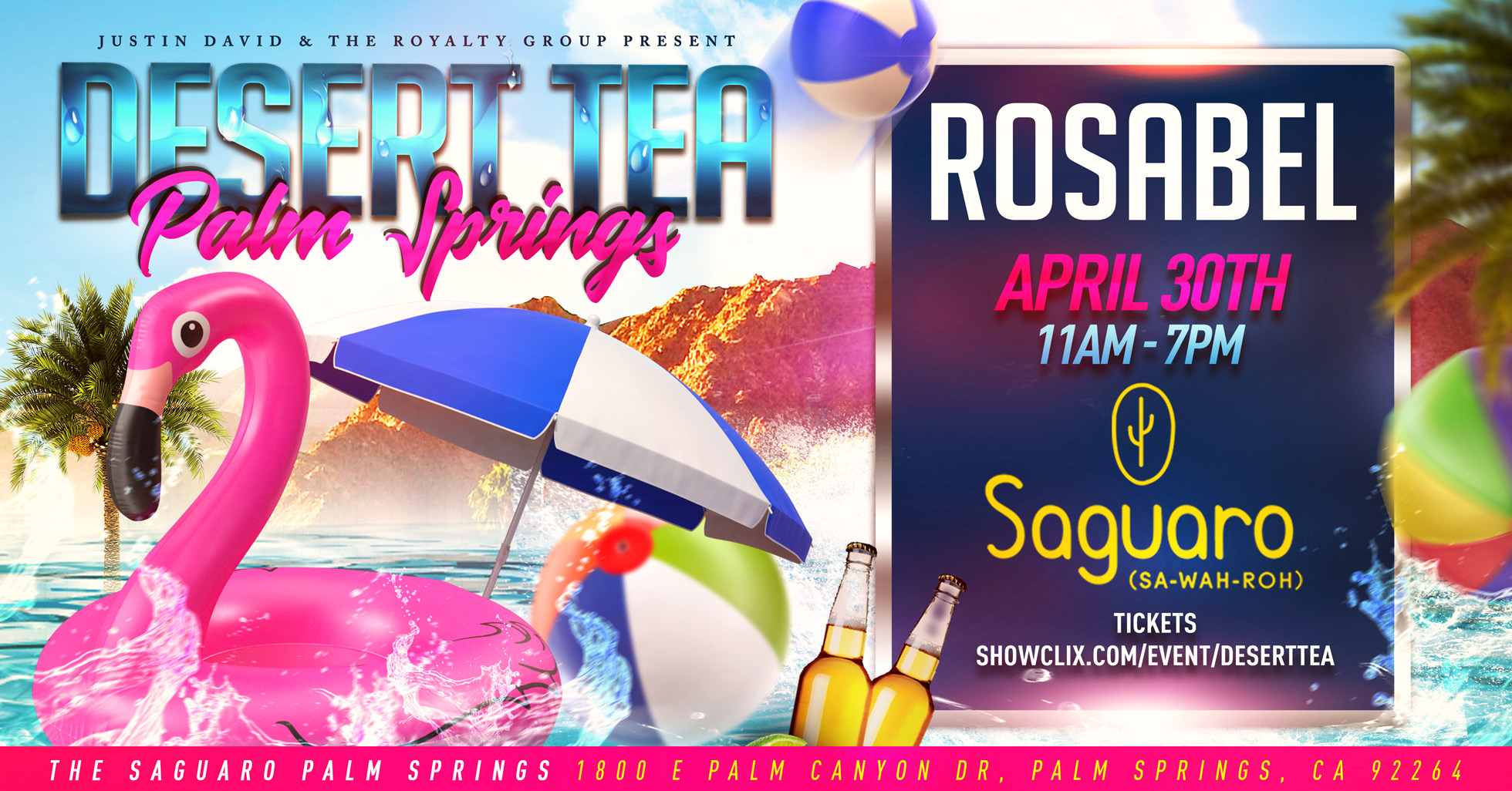 Tickets for Desert Tea in Palm Springs from ShowClix