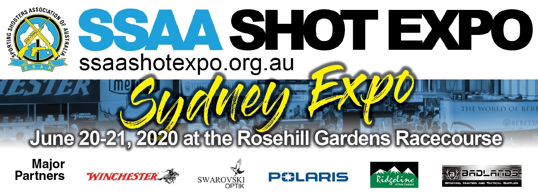 Tickets for SSAA SHOT Expo Sydney 2020 in Rosehill from Ticketbooth