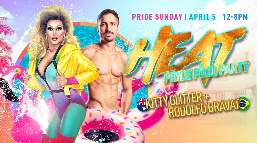 Tickets for HEAT! Pool Party | Miami Beach | DJ Kitty Glitter + Rodolfo Bravat in Miami Beach from ShowClix