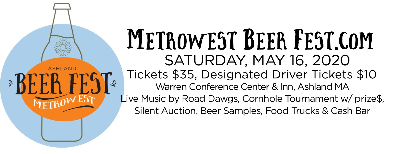 Tickets for MetroWest Beer Fest 2020 in Ashland from BeerFests.com