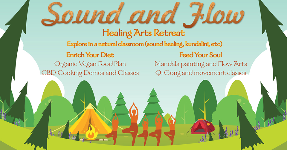 Tickets for Sound and Flow: A Lovelight Healing Arts Retreat in Duncannon from BrightStar Live Events