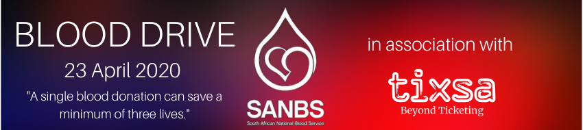 Tickets for Blood Drive in Centurion from Tixsa