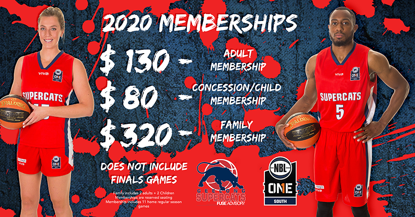 Tickets for CANCELLED - Supercats – 2020 Season Memberships in North Geelong from Geelong Australia
