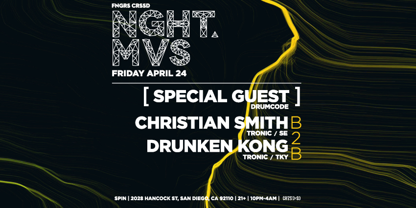 Tickets for FNGRS CRSSD presents CHRISTIAN SMITH +DRUNKEN KONG in San Diego from ShowClix